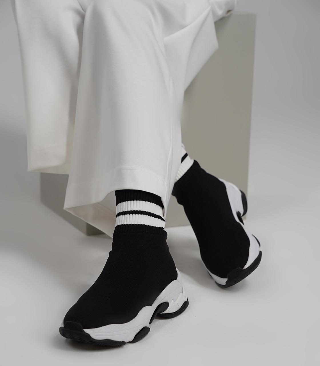 Jeffery campbell Высокие эластичные кроссовки Jeffery campbell недорого